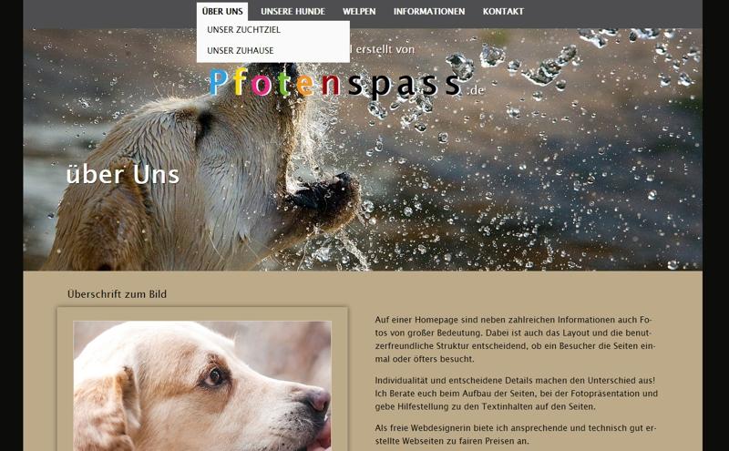 Homepagevorlage-Template-02-07-website