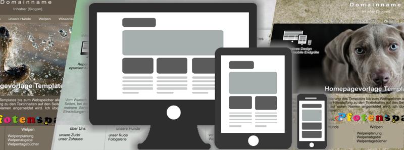Hunde Homepage überarbeiten lassen Pfotenspass