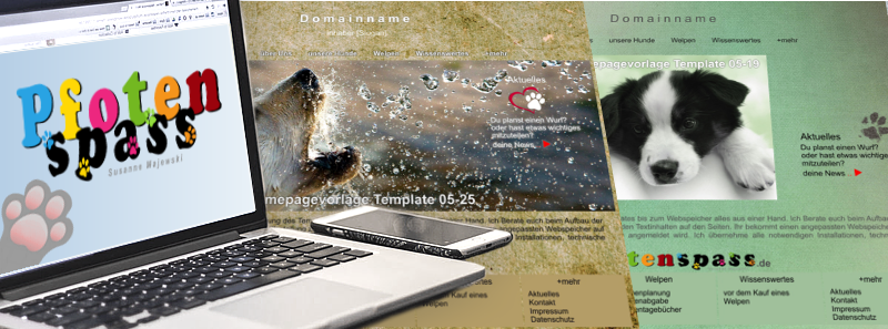 Homepagevorlagen-Pfotenspass