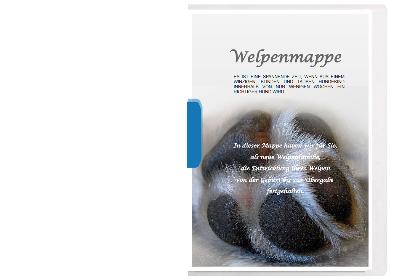 Welpenmappe-universell-Deckblatt-Pfote-fertig-erstellt-von-Pfotenspass